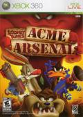 Looney Tunes: Acme Arsenal Xbox 360 Front Cover
