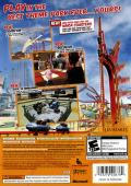 Thrillville: Off the Rails Xbox 360 Back Cover