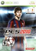 PES 2010: Pro Evolution Soccer Xbox 360 Front Cover