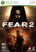 F.E.A.R. 2: Project Origin Xbox 360 Front Cover