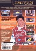 Driven PlayStation 2 Back Cover