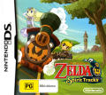 The Legend of Zelda: Spirit Tracks Nintendo DS Front Cover