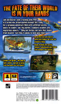 Jak and Daxter: The Lost Frontier PSP Back Cover