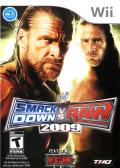 WWE Smackdown vs. Raw 2009 Wii Front Cover