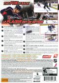 NHL 2K9 Xbox 360 Back Cover