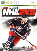 NHL 2K9 Xbox 360 Front Cover