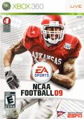 NCAA Football 09 Xbox 360 Front Cover