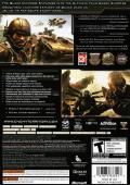 Enemy Territory: Quake Wars Xbox 360 Back Cover
