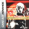 Alex Rider: Stormbreaker Game Boy Advance Front Cover