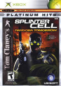 Tom Clancy's Splinter Cell: Pandora Tomorrow Xbox Front Cover