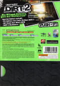 Colin McRae: DiRT 2 (Special Edition) Windows Back Cover