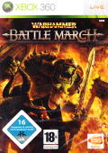 Warhammer: Mark of Chaos - Battle March Xbox 360 Front Cover