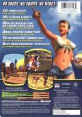 Outlaw Volleyball Xbox Back Cover