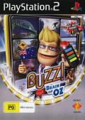 Buzz!: Brain of Oz PlayStation 2 Front Cover