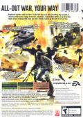 Battlefield 2: Modern Combat Xbox Back Cover