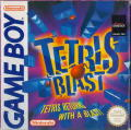 Tetris Blast Game Boy Front Cover