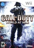 Call of Duty: World at War Wii Front Cover