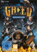 GREED: Black Border Windows Front Cover
