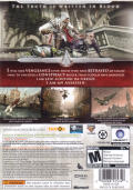 Assassin's Creed II Xbox 360 Back Cover
