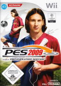 PES 2009: Pro Evolution Soccer Wii Front Cover