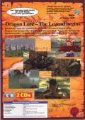 Dragon Lore: The Legend Begins DOS Back Cover