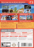 New Super Mario Bros. Wii Wii Back Cover