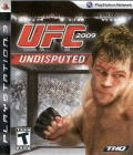 UFC 2009 Undisputed PlayStation 3 Front Cover