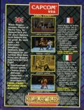 Final Fight ZX Spectrum Back Cover