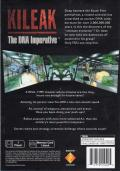 Kileak: The DNA Imperative PlayStation Back Cover