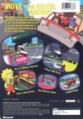 The Simpsons: Road Rage Xbox Back Cover