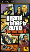 Grand Theft Auto: Chinatown Wars PSP Front Cover