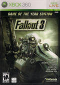 Fallout 3: Game of the Year Edition Xbox 360 Other Keep Case - Front