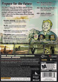 Fallout 3 (Game of the Year Edition) Xbox 360 Other Keep Case - Back