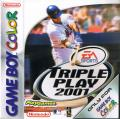 Triple Play 2001 Game Boy Color Front Cover