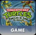 Teenage Mutant Ninja Turtles: Turtles in Time Re-Shelled PlayStation 3 Front Cover