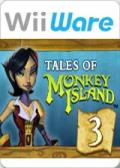 Tales of Monkey Island: Chapter 3 - Lair of the Leviathan Wii Front Cover