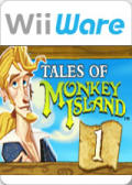 Tales of Monkey Island: Chapter 1 - Launch of the Screaming Narwhal Wii Front Cover