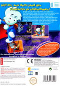 Pajama Sam: No Need to Hide When It's Dark Outside Wii Back Cover