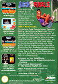 Arch Rivals NES Back Cover