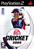 Cricket 2004 PlayStation 2 Front Cover