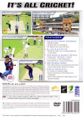 Cricket 2004 PlayStation 2 Back Cover