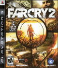 Far Cry 2 PlayStation 3 Front Cover