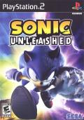 Sonic Unleashed PlayStation 2 Front Cover
