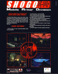 Shogo: Mobile Armor Division Windows Back Cover