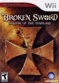 Broken Sword: Shadow of the Templars - The Director's Cut Wii Front Cover