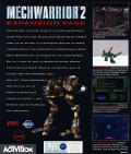 MechWarrior 2: Expansion Pack - Ghost Bear's Legacy DOS Back Cover
