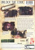 The Da Vinci Code Xbox Back Cover