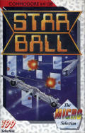 Star Ball Commodore 64 Front Cover