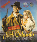 Jack Orlando: A Cinematic Adventure DOS Front Cover