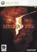 Resident Evil 5 Xbox 360 Front Cover